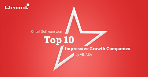 Orient Software Won the Most Impressive Growth Award Despite the Challenges Amid Covid-19